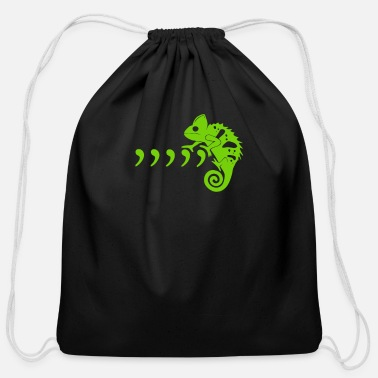 Commas Comma Comma Chameleon funny tshirt - Cotton Drawstring Bag