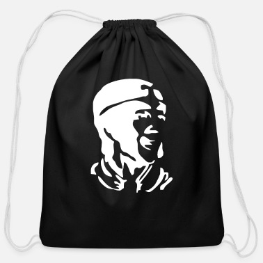 Magic Monkey Magic Funny Retro Joke TV Series 80 s Plane - Cotton Drawstring Bag