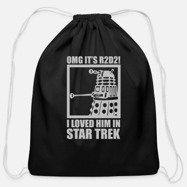 Trek R2D2 Dalek Star Wars Dr Who Trek - Cotton Drawstring Bag