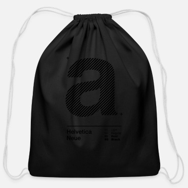 Strip a Strips - Cotton Drawstring Bag