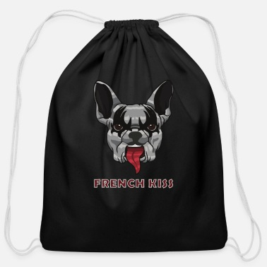 French Kiss French Kiss - Cotton Drawstring Bag