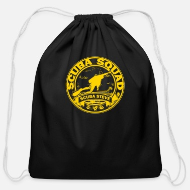 Scuba Scuba Steve Scuba Squad - Cotton Drawstring Bag