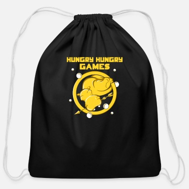 Hungry Hungry Hungry Games - Cotton Drawstring Bag