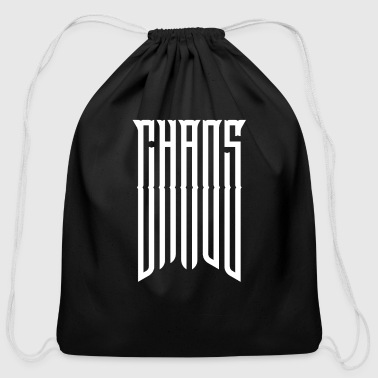 Chaos Chaos - Cotton Drawstring Bag