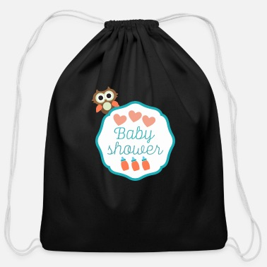 Baby Shower Baby Shower - Cotton Drawstring Bag