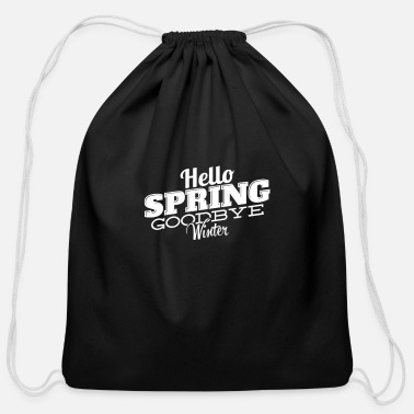 College Spring And Winter Design - Cotton Drawstring Bag