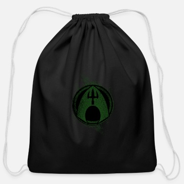 Form abstract forms - Cotton Drawstring Bag