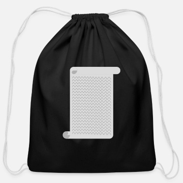 Paper Paper - Cotton Drawstring Bag