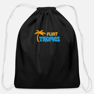 Flint Flint Tropics - Cotton Drawstring Bag