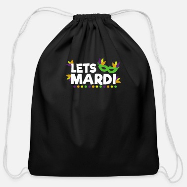 Mardi Gras Mardi Gras - Cotton Drawstring Bag