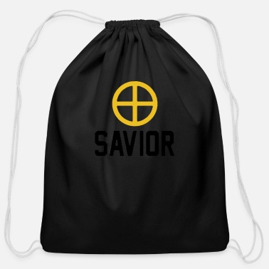 Savior savior - Cotton Drawstring Bag