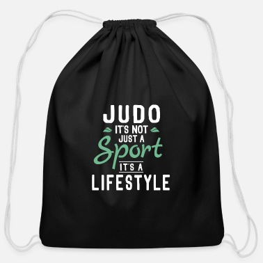 Meme Funny Unique Judo Themed Jokes Quotes Memes Gifts - Cotton Drawstring Bag