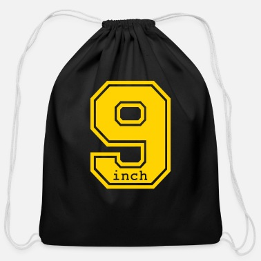 Irony 9 inch - Cotton Drawstring Bag