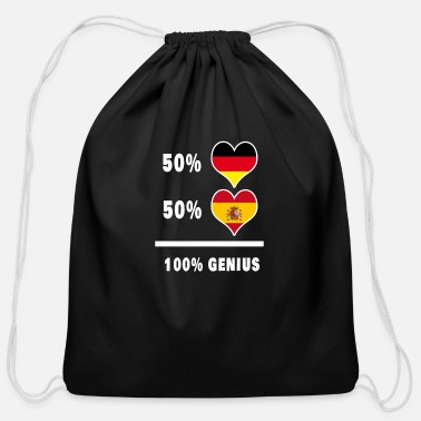 Spain Germany and Spain Ingenious / Gift - Cotton Drawstring Bag