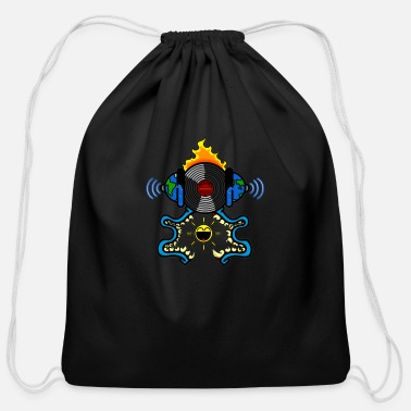 Birth Name Birth of sound - Cotton Drawstring Bag