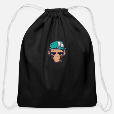 Numbers Graffiti Graffiti - Cotton Drawstring Bag