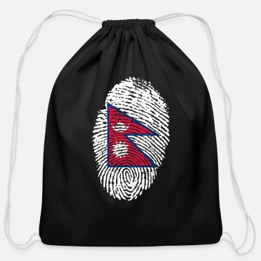 Nepal nepal - Cotton Drawstring Bag