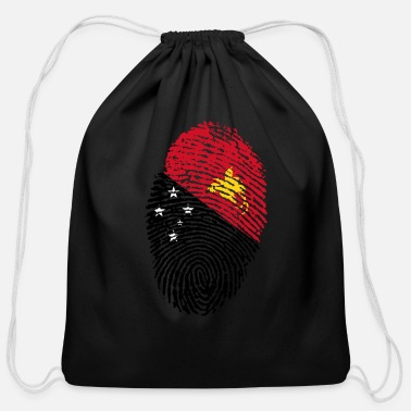 Papua New Guinea papua new guinea - Cotton Drawstring Bag