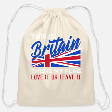Great Britain Great Britain - Cotton Drawstring Bag