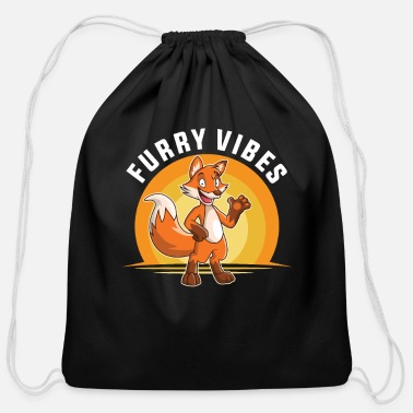 Furry Furry Fandom Furries Fursona Fursuit - Cotton Drawstring Bag