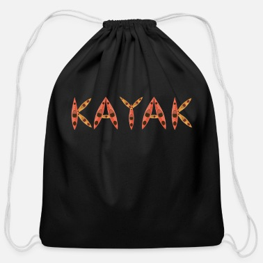 Kayaking Kayaking Yak Kayak Kayaker - Cotton Drawstring Bag