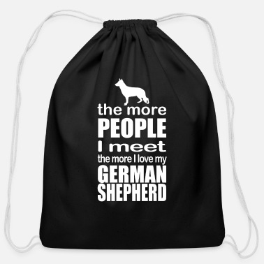 German Shepherd German Shepherd - Cotton Drawstring Bag