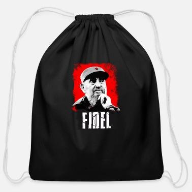 332f3eefa9e6df fidel castro president cuba dead - Cotton Drawstring Bag