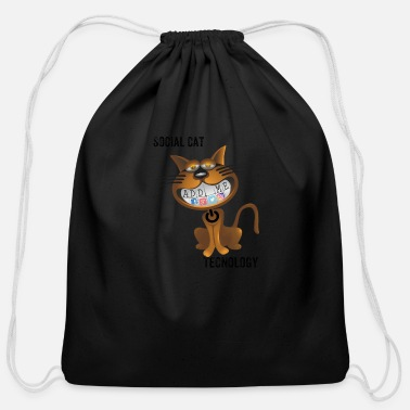 Social Social - Cotton Drawstring Bag