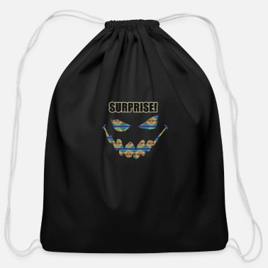 Surprise Surprise - Cotton Drawstring Bag