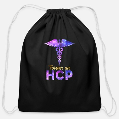 Week Forever A HCP Nurse Week Caduceus Space Nursing - Cotton Drawstring Bag
