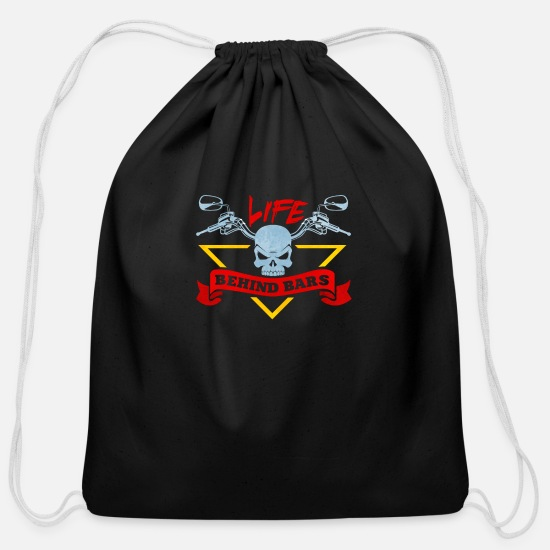 Bicyclette Bags & Backpacks - Bicycle - Cotton Drawstring Bag black