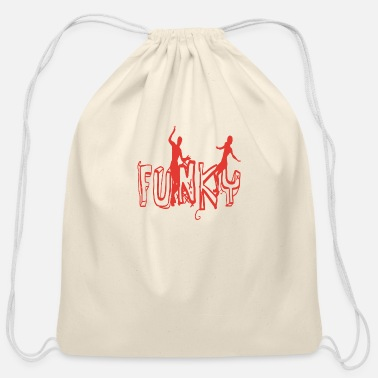 Funky Funky - Cotton Drawstring Bag