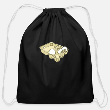 Egg Eggs - Cotton Drawstring Bag