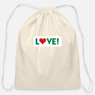 Saying Bladder Love! - Cotton Drawstring Bag