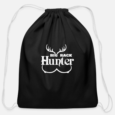Big Rack Hunter - Cotton Drawstring Bag