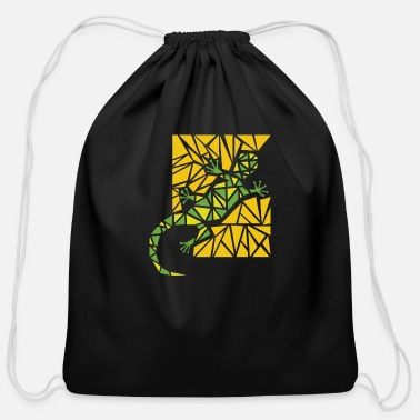 Lizard lizard - Cotton Drawstring Bag