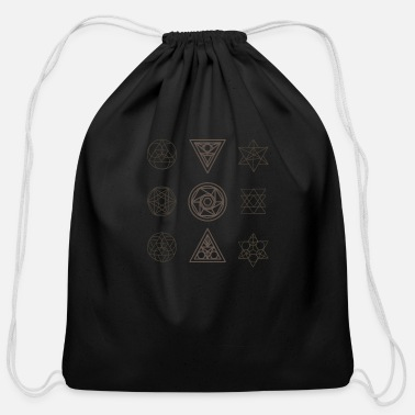 Geometry Geometry - Cotton Drawstring Bag