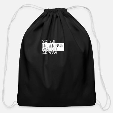 Arrow Arrow - Cotton Drawstring Bag
