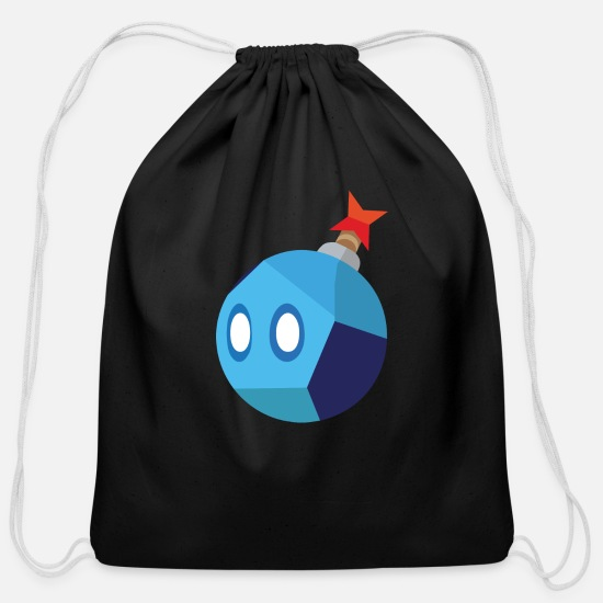 Nintendo Bags & Backpacks - Nintendo Prime Logo - Cotton Drawstring Bag black