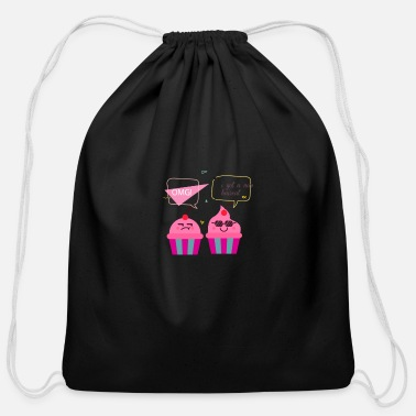 Cake cake - Cotton Drawstring Bag
