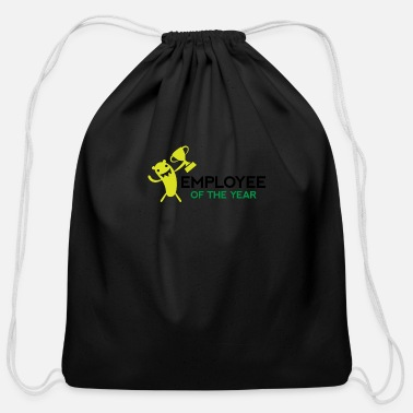 Employee Employee Of The Year! - Cotton Drawstring Bag