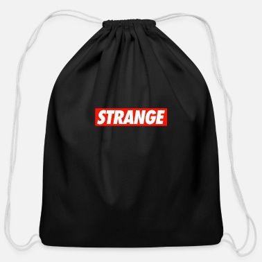 Strange STRANGE - Cotton Drawstring Bag