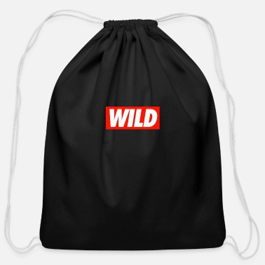 Wild WILD - Cotton Drawstring Bag