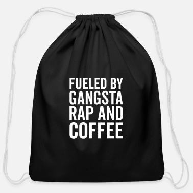 abaf0017200 Gangsta Rap And Coffee Funny Quote Baseball Cap