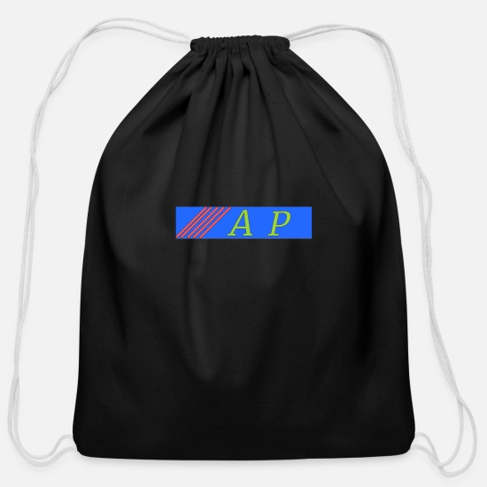 ApJ Bags & Backpacks - AP - Cotton Drawstring Bag black