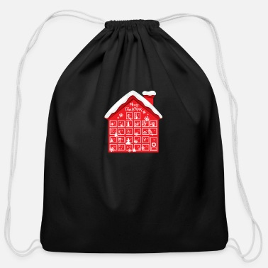Advent Advent Calendar House - Cotton Drawstring Bag
