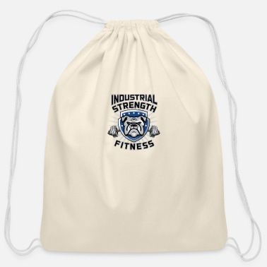 Pitch Industrial strength fitness - Cotton Drawstring Bag