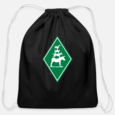 Grimm Musicians Of Bremen - Cotton Drawstring Bag