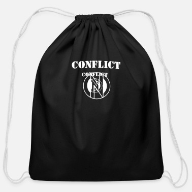 Conflict Conflict - Cotton Drawstring Bag