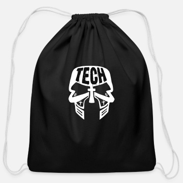 Tech No Tech - Cotton Drawstring Bag